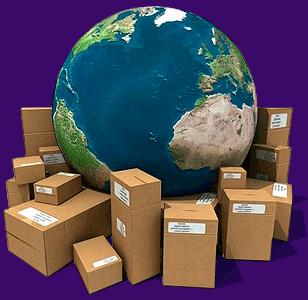 Livraison dans le monde entier
