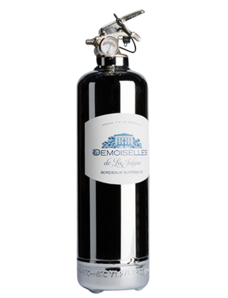 Fire extinguisher design demoiselles chrome