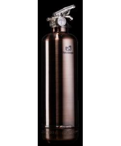 Extincteur luxe cuivre brossé by Fire design