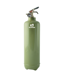 Fire extinguisher design khaki