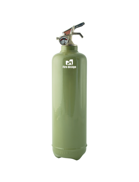 Fire extinguisher design plain khaki