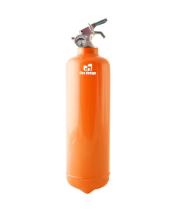Fire extinguisher orange