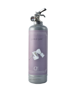 Fire extinguisher design Day Collection Barber Shop grey