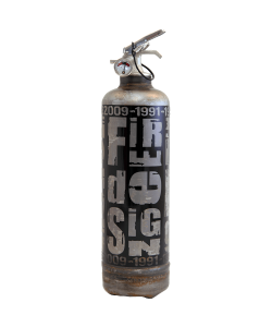 Fire extinguisher design RG raw black