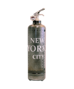 Fire extinguisher design Metal NY City