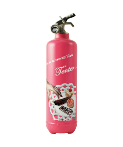 Fire extinguisher design Day Collection Tentation fuchsia
