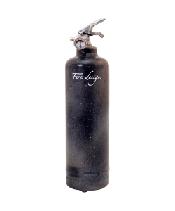 Fire extinguisher design GALAXY black