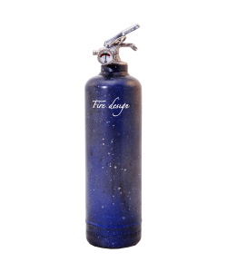 Fire extinguisher design Galaxy nuit