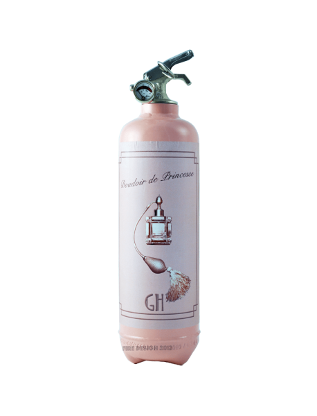 Fire extinguisher design Day Collection Boudoir light pink
