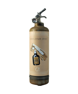 Fire extinguisher design Day Collection Gentleman raw vintage