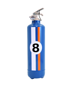 Fire extinguisher design E2R Charly Hill blue