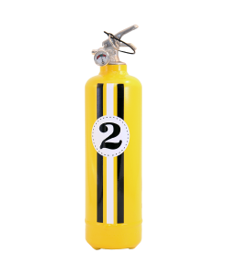 Fire extinguisher design E2R Fangio yellow