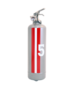 Fire extinguisher design E2R Monte Carlo grey