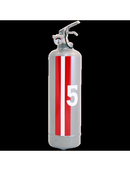 Fire extinguisher design E2R Monte Carlo grey