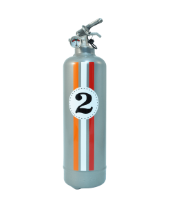 Extincteur design E2R Fangio gris