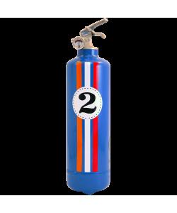 Estintore design Entre 2 Retros Fangio blu