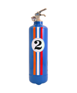 Fire extinguisher design auto E2R Fangio blue