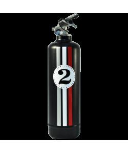 Extincteur design E2R Fangio noir