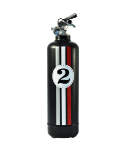 Fire extinguisher design E2R Fangio black