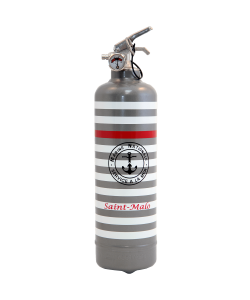 Fire extinguisher design PC Marine Nationale grey