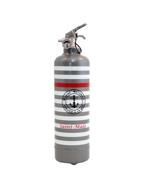 Fire extinguisher design pc Nationale grey