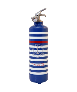 Fire extinguisher design PC Marine Nationale blue