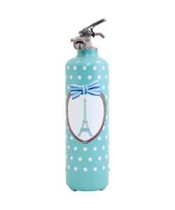 Fire extinguisher design PC Médaillon blue
