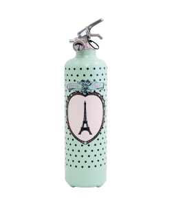 Fire extinguisher design PC Medaillon black