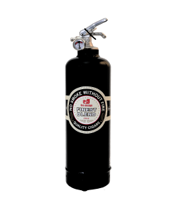 Fire extinguisher design DV Cigar black