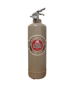 Fire extinguisher design DV Cigar light brown