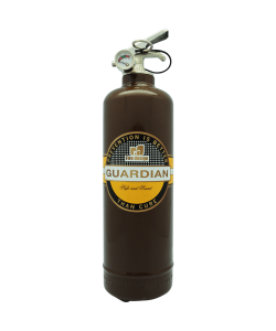 Fire extinguisher design Cigar brown