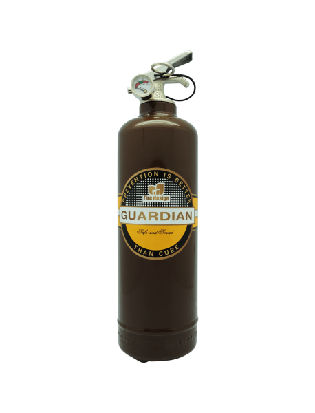extincteur design DV Cigar marron