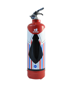 Fire extinguisher design DV France Waiter red