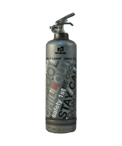 Fire extinguisher design Dv Graffiti vintage