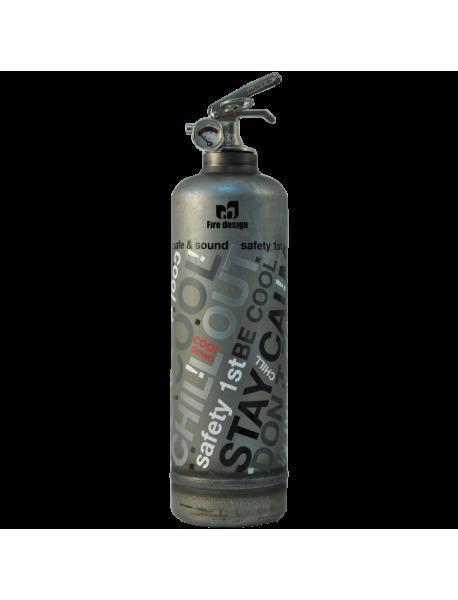 Fire extinguisher design Dv Graffiti vintage