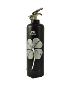 Fire extinguisher design DV Lucky black