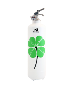 Fire extinguisher design DV Lucky white