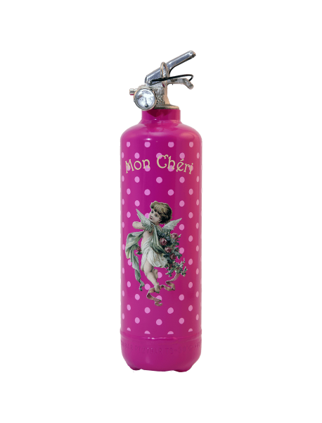 Fire extinguisher design PC Ange pink
