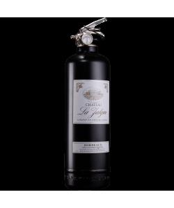 Extincteur design vin noir