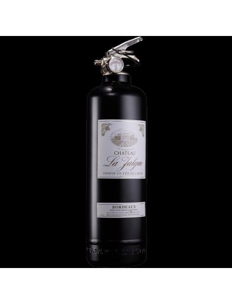 Fire extinguisher design wine black