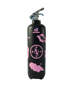 Fire extinguisher design atlantic black