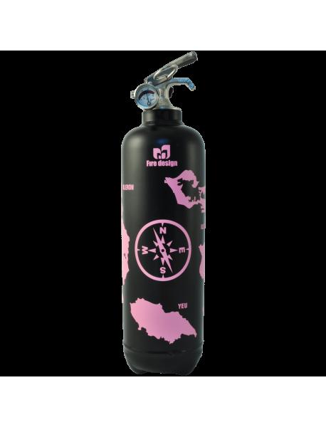 Fire extinguisher design atlantic black