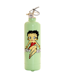 Extincteur design Betty Boop Assise