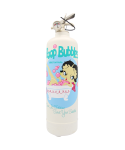 Extincteur design Betty Boop Long Bubbles