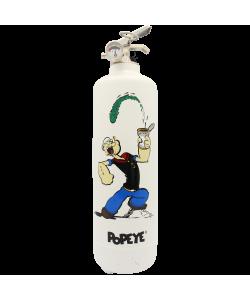 Estintore design Popeye Original bianco