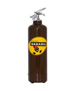 Fire extinguisher design Banania Cacao