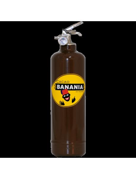 Extincteur design Banania Cacao