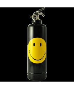 Estintore design Smiley Classic nero