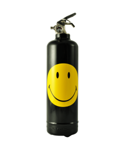 Fire extinguisher design Smiley Classic black