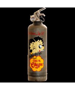 Extincteur vintage Betty Boop Chupa vintage